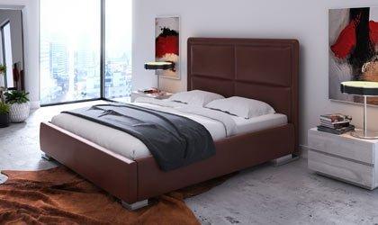 Ekskluzywne łóżko sypialne pod materac 140, 160 lub 180 x 200 cm