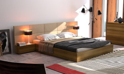 Nowoczesne łóżko na wymiar