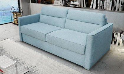 Sofa z włoskim systemem rozkładania