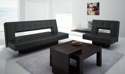 Sofa z wygodnym rozkładaniem