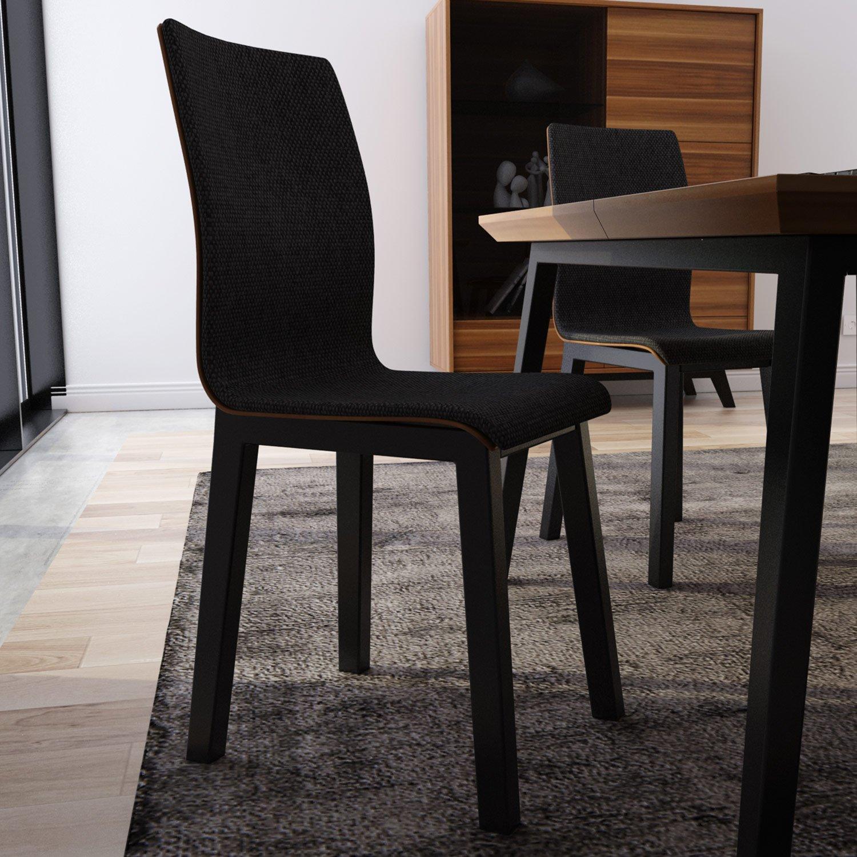 Cudowna Krzesło z profilowanym oparciem i siedziskiem w stylu Retro WI09