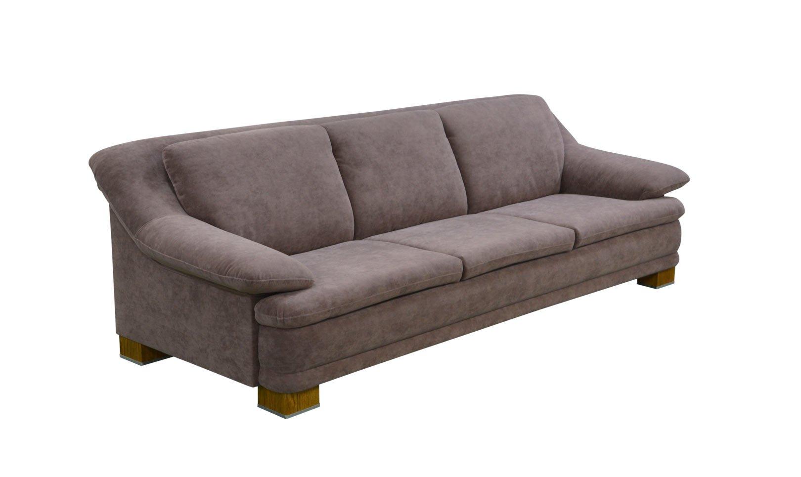 Klasyczna sofa Almiro 250 cm w materiale zmywalnym Velsoft Dim Rosse Vieri Divani