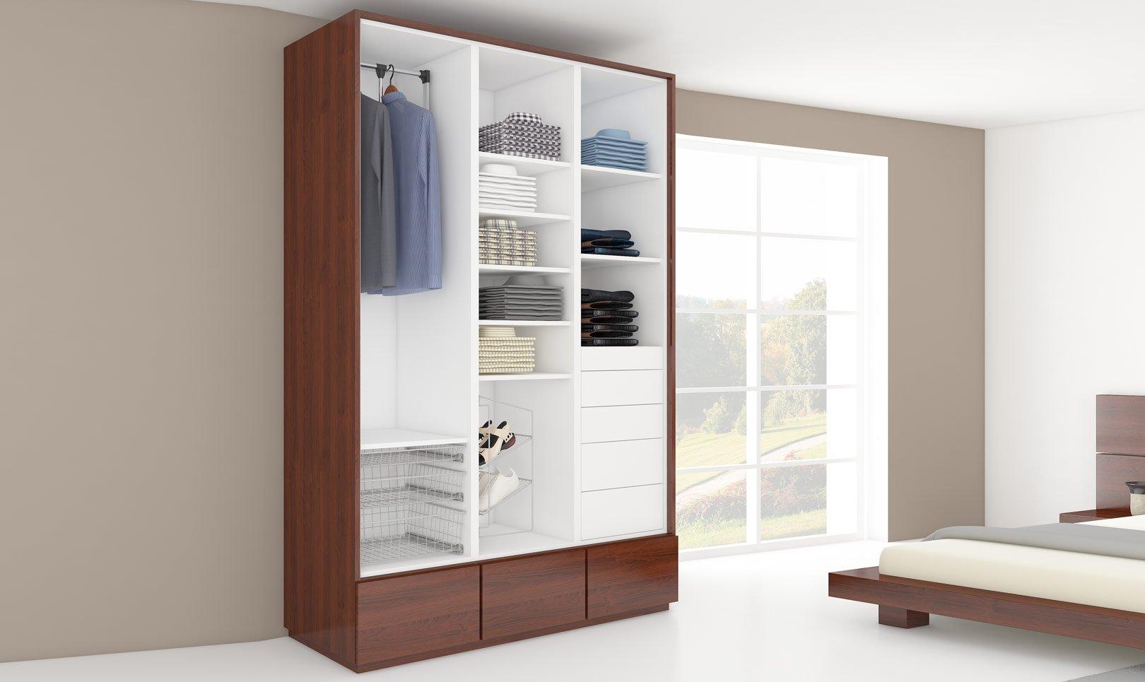nowoczesna szafa do garderoby lub sypialni fashion two